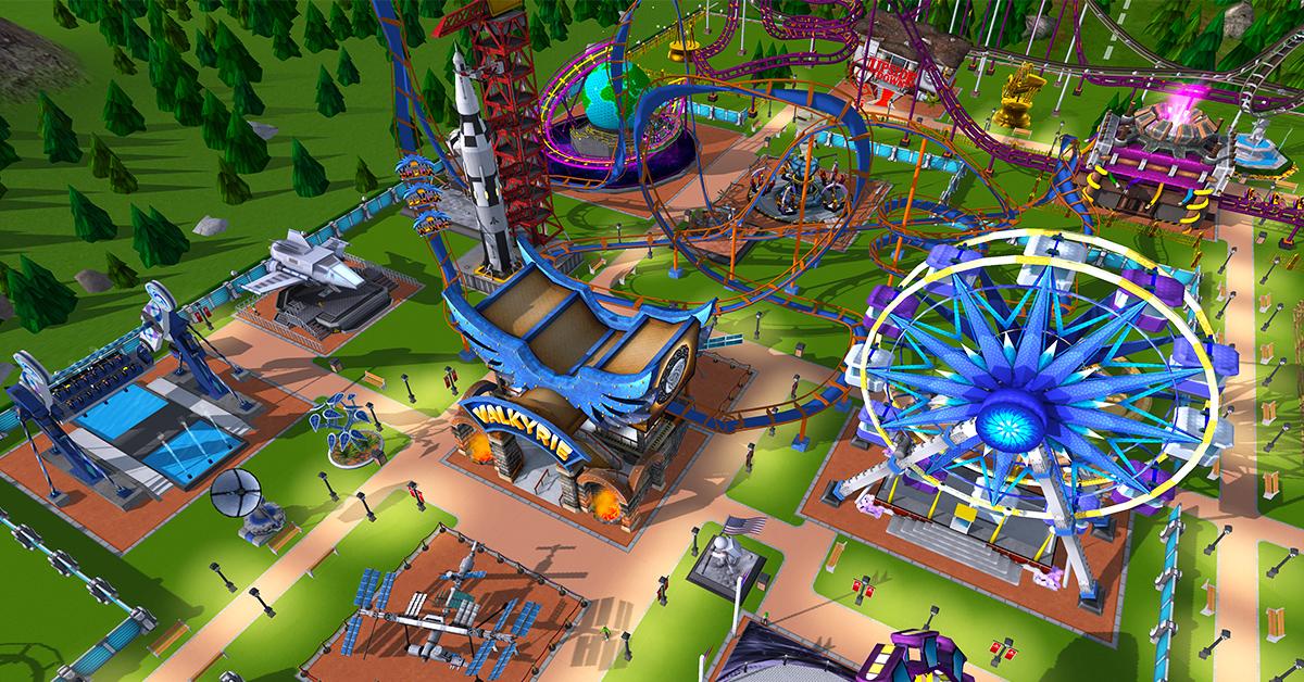 Обзор компьютерной игры Roller Coaster Tycoon (Магнат парка развлечений)